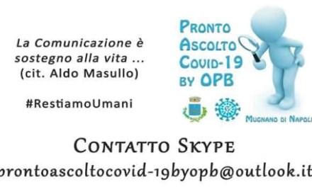 Coronavirus, l'amministrazione Sarnataro attiva il sostegno psicologico con l'Osservatorio permanente del Bullismo