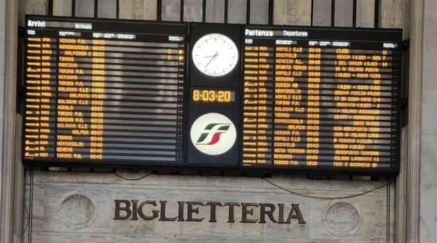 Stop agli spostamenti dal nord Italia