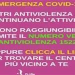 Covid-19 e la violenza sulle donne
