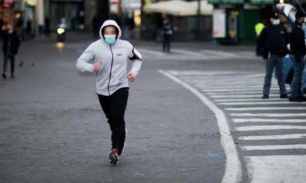 Coronavirus. E' vietato passeggiare e fare jogging