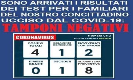 Coronavirus a Melito, il bollettino del sindaco
