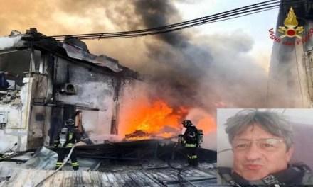 Incendio all'Adler Plastica di Ottaviano. Perde la vita un operaio e si contano diversi feriti