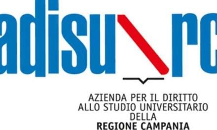 Campania, Adisurc: al via il bonus di 250 euro per gli studenti universitari