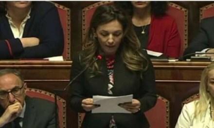 La senatrice Castelleone interroga il Ministro dell'ambiente