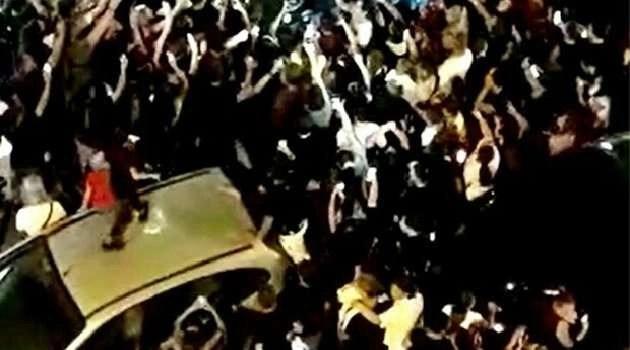 Concerto neomelodico abusivo: intervengono carabinieri e polizia