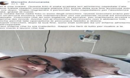 Denunciato il furto degli orecchini. Scandalo in un ospedale