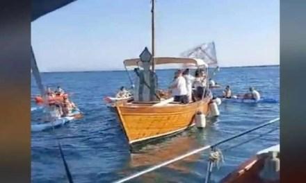 Processione per San Gennaro in mare