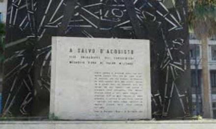 Restaurato monumento di Salvo D'Acquisto a Napoli