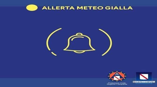 +++ALLERTA METEO GIALLA IN CAMPANIA+++
