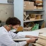 Napoli, cultura. Banchi anticovid costruiti dagli studenti