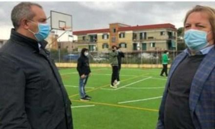 Inaugurato il campo sportivo del liceo Immanuel Kant