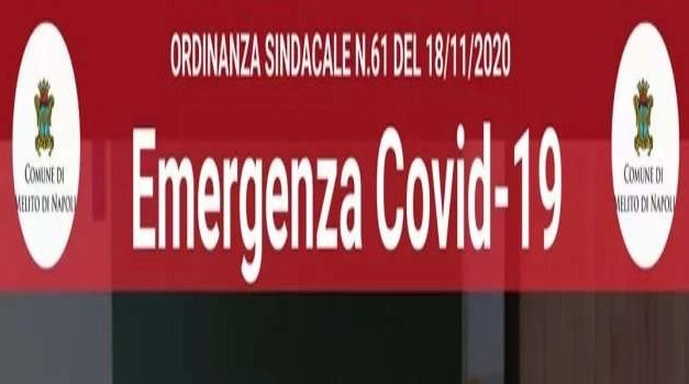 Covid-19, Melito. L'ordinanza n.61 rimanda l'apertura delle scuole