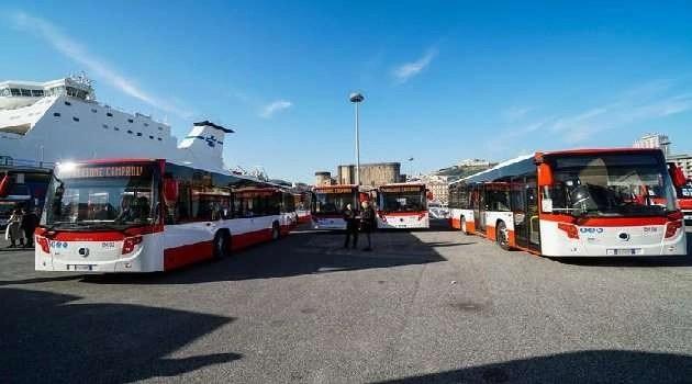 Napoli, cronaca. In arrivo 15 nuovi autobus