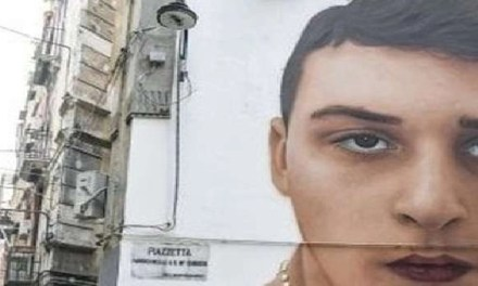 Napoli, cronaca Ugo Russo, il Tar Campania respinge il ricorso per la cancellazione del murale