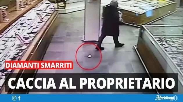 Napoli, cronaca Persi diamanti per cinquanta mila euro al supermercato