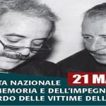 Giornata della Memoria e dell'Impegno in ricordo delle vittime innocenti della criminalità organizzata