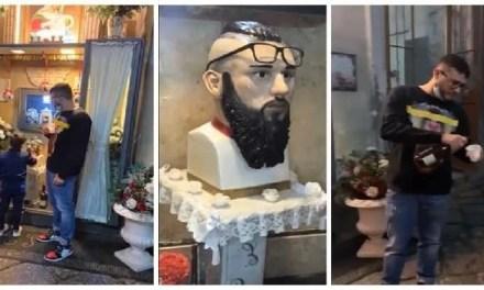 Napoli, cronaca Rimosso l'altarino in memoria di Emanuele Sibillo