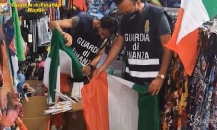 Napoli, cronaca. Maxi sequestro di prodotti contraffatti tra Napoli e provincia