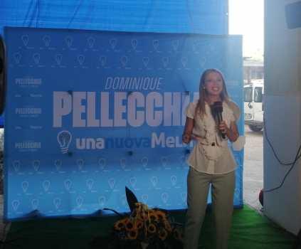 Dominique Pellecchia inaugurazione comitato