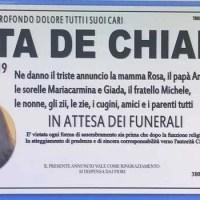Lutto a Trentola Ducenta, diciannovenne morta