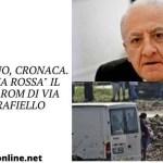 """Giugliano, cronaca. In """"zona rossa"""" il campo rom di via Carrafiello"""