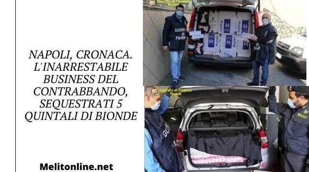 Napoli, cronaca. L'inarrestabile business del contrabbando, sequestrati 5 quintali di bionde