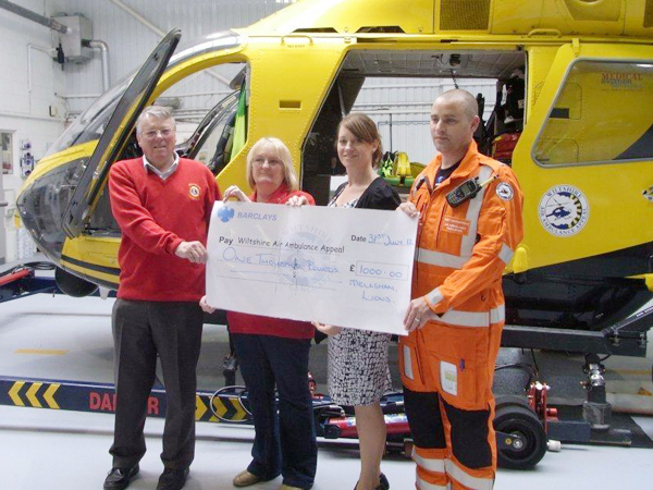 Donations to Air Ambulance