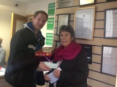Trussell Trust donation 2016
