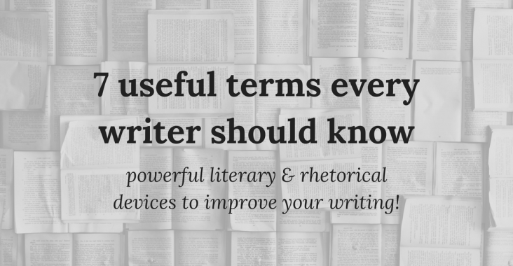 useful terms every writer should know, useful writing terms