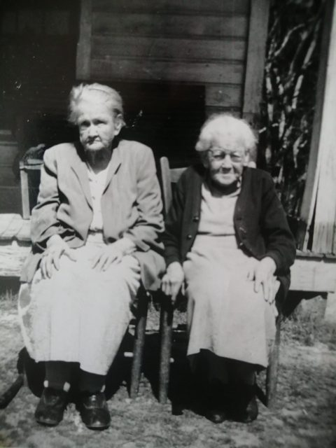aunt mollie and granny estelle - synchronicity in writing post