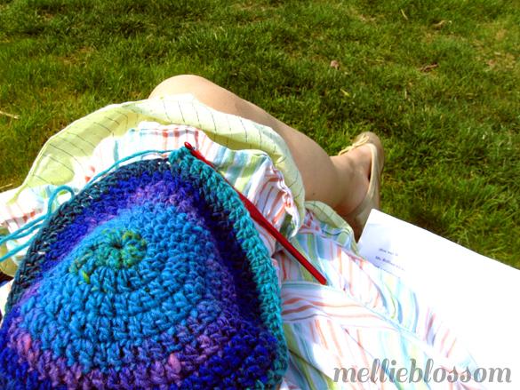 Dog Days of Summer - outdoor crochet