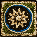 Crochet Twinkle Twinkle Little Star Square