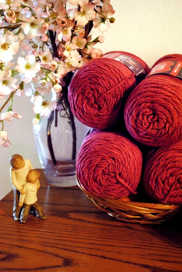 Country Rose Yarn
