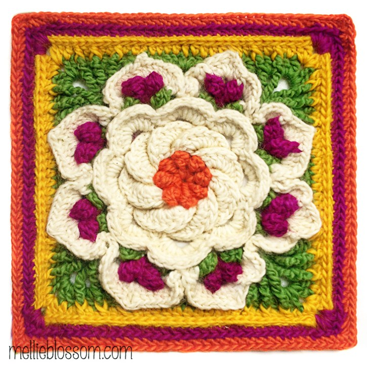 Free Tropical Delight Crochet Pattern