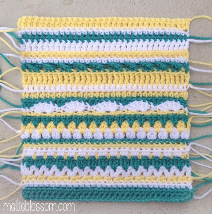 mellieblossom crochet bag