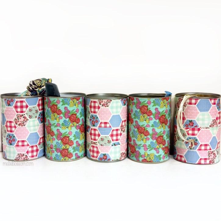 repurpose tin cans - mellieblossom.com