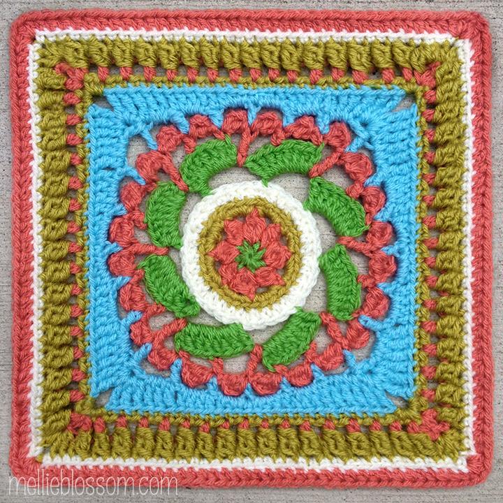 September Crochet Squares