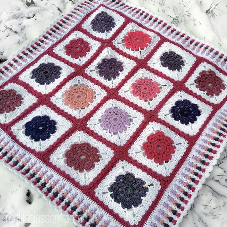 crochet babyghan - mellieblossom.com