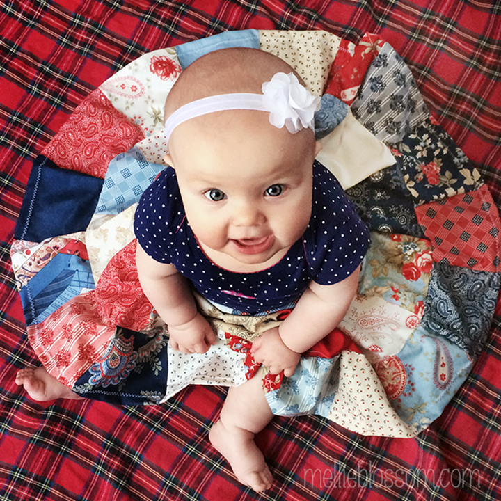 94863d2f7 A Baby Skirt for Clara