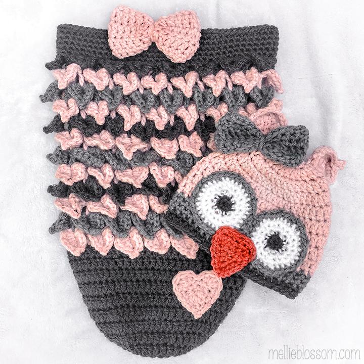 797eb4e16 Crochet Owl Cocoon for Alice