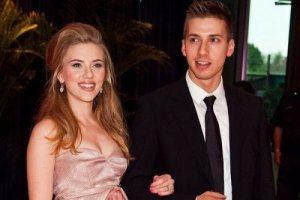 Scarlett y Hunter Johansson