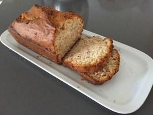Pan de banana, manjar para la hora del té