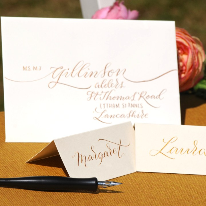 Hand Lettered Items by Mellor and Rose