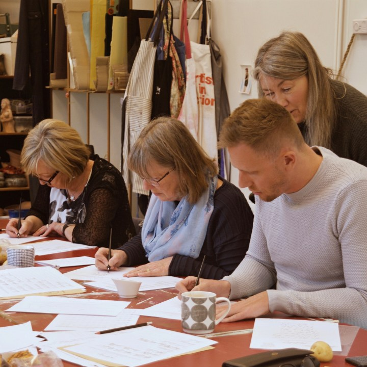 Mindful Calligraphy & Lettering workshops with Mellor & Rose in Lancashire/ Yorkshire/ Merseyside