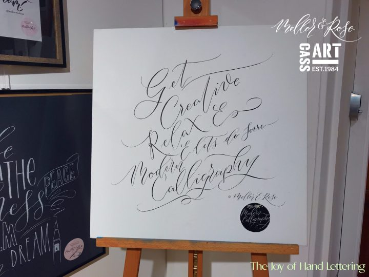 Mindful Calligraphy with Lucy Mellor