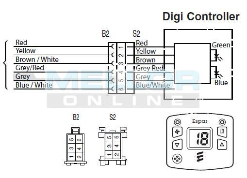 eberspacher 801 wiring diagram