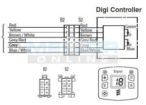Eberspacher 801 Series Modulator with Diagnostic Readout, Night Heater Kits, Eberspacher