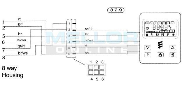 7 wire trailer plug diagram 2000 jeep wrangler tj radio wiring eberspacher 701 controller day with diagnostic readout, night heater kits, ...