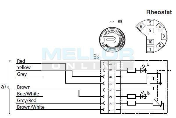 Eberspacher Switch Rheostat 24v, Night Heater Kits