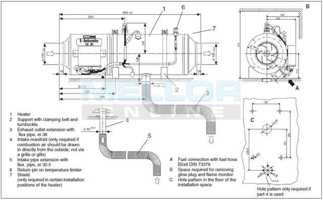 webasto hl32 wiring diagram